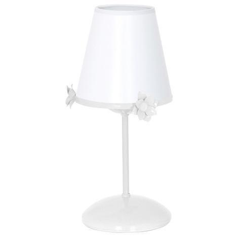 Detská lampička ALICE 1xE14 / 60W / 230V biela