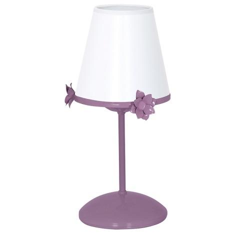Detská lampička ALICE 1xE14 / 60W / 230V fialová