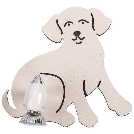 Detské bodové svietidlo DOG 1xGU10/35W/230V
