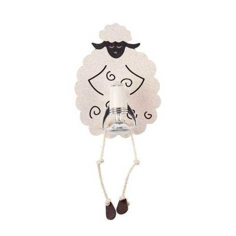Detské bodové svietidlo SHEEP I K B - 1xE14/40W/230V