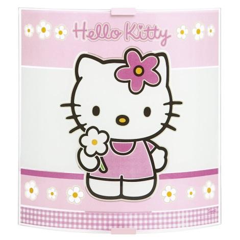 Detské nástenné svietidlo HELLO KITTY 1xE27/60W