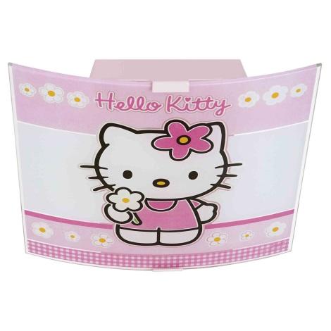 Detské stropné svietidlo HELLO KITTY 2xE27/60W