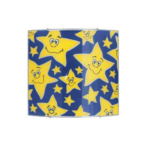Detské stropné svietidlo STARS IV - 1xE27/100W/230V