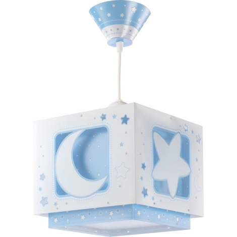 Detský luster BLUE MOON 1xE27/60W