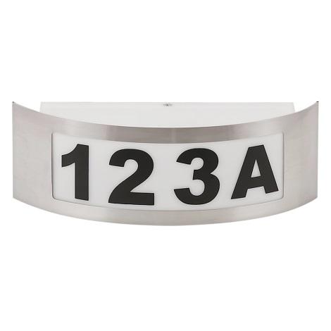Domové číslo 1xE27/14W/230V
