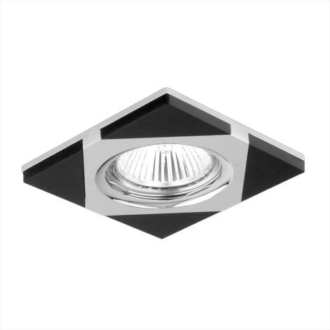 Downlight 71023 1xGU10/50W chróm/wenge