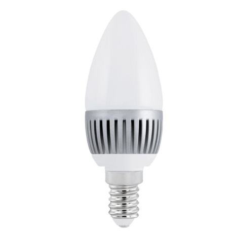 EGLO 11166 - LED žiarovka E14/3W LED 3000K Sviečka