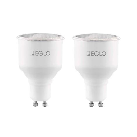 Eglo 12109 - SADA 2x Úsporná žiarovka GU10/11W/230V