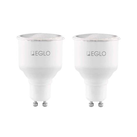 Eglo 12125 - SADA 2x Halogénová žiarovka GU10/7W/230V