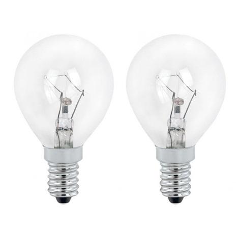 EGLO 12437 - žiarovka 1xE14/60W číra sada 2 žárovek