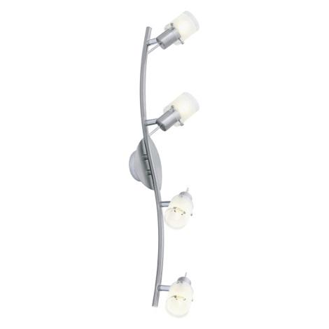 EGLO 13338 - Bodové svietidlo KENO 4xG9/40W