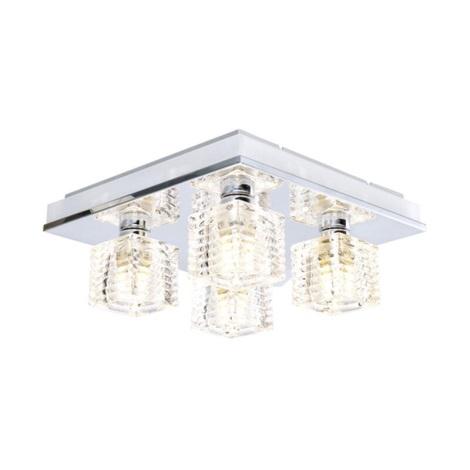 EGLO 13546 - LED Stropné svietidlo ISELLA 4xG9/33W + LED / 2,4 W