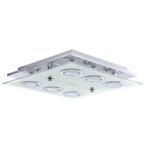 EGLO 13551 - Stropné svietidlo CABO 6xGU10 LED / 2,5 W