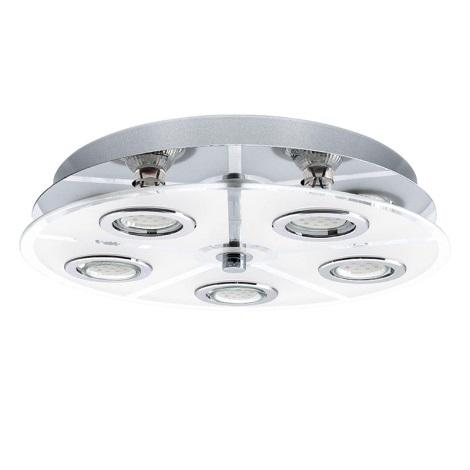 EGLO 13552 - LED Stropné svietidlo CABO 5xGU10 LED / 2,5 W