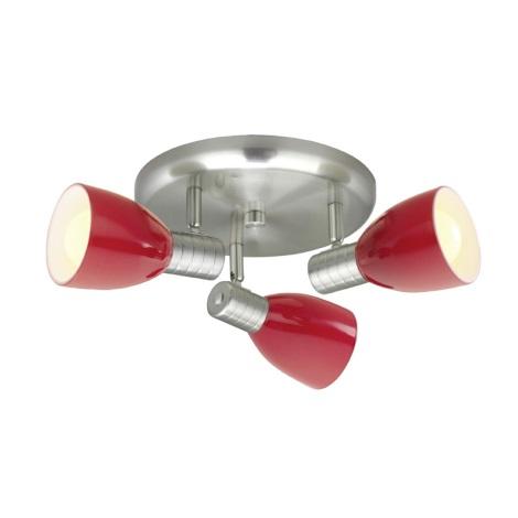 Eglo 22339 - Bodové svietidlo PRINCE 3xE14/7W/230V