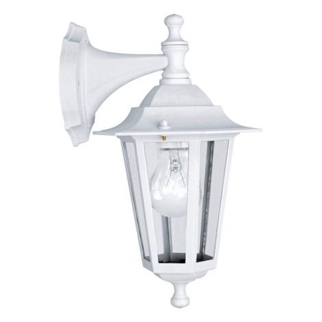 EGLO 22462 - vonkajšie nástenné svietidlo LATERNA 5 1xE27/60W biela