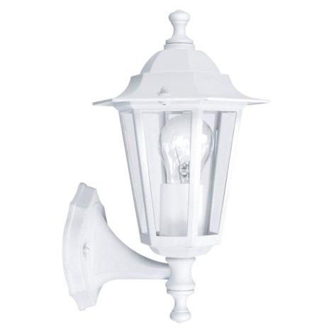 EGLO 22463 - vonkajšie nástenné svietidlo LATERNA 5 1xE27/60W biela