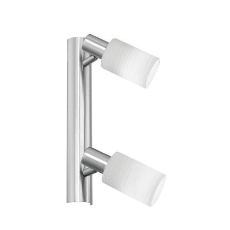 EGLO 22639 - Bodové svietidlo CORK 2xG9/9W