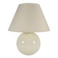 Eglo 23874 - Stolná lampa TINA 1xE14/40W/230V krémová