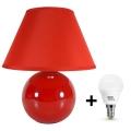 Eglo 23876 - LED Stolná lampa TINA 1xE14/6W/230V