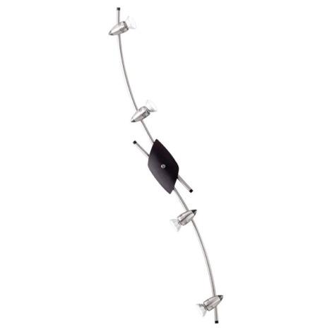 EGLO 23885 - Bodové svietidlo LEON 4xGU10/50W