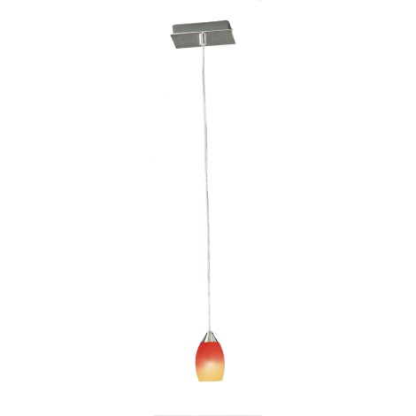 EGLO 25839 - luster ROSSO 1xE14/40W
