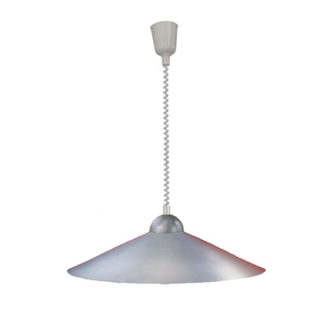 EGLO 27052 - Sťahovacia luster 1xE27/100W stříbrná