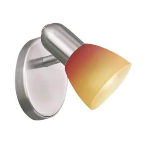 EGLO 27271 - bodové svietidlo 1xG9/40W červenej sklo