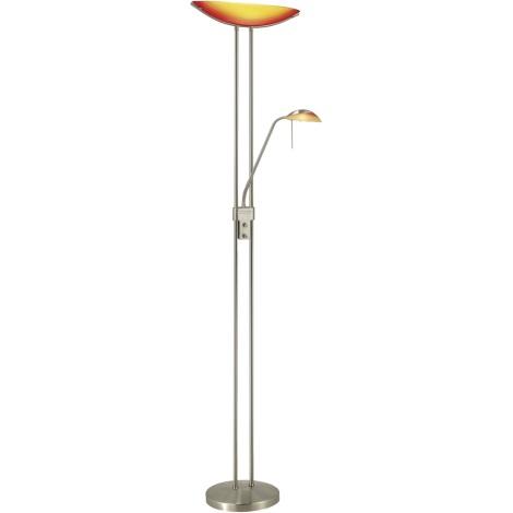 EGLO 27722 - Stojanová stmivatelná lampa BAYA 1xR7s/230W+1xG9/33W červená