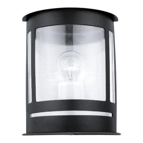 EGLO 30174 - nástenné svietidlo DARIL 1xE27/60W čierna