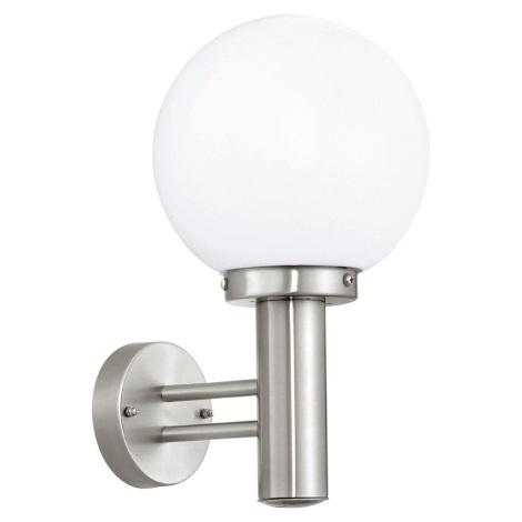 Eglo 30205 - Vonkajšia lampa NISIA E27/60W/230V