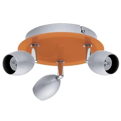 EGLO 30252 - Bodové svietidlo BURONI 3xGU10/50W