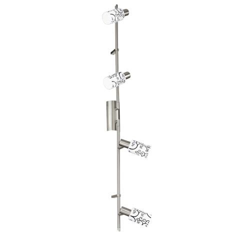 EGLO 30512 - bodové svietidlo PESARO 4xG9/9W