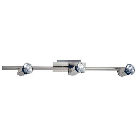 Eglo 30519 - Bodové svietidlo ZAMBIA 3xGU10/50W/230V
