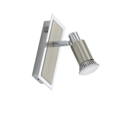 EGLO 30849 - LED Bodové svietidlo ERIDAN 1xGU10/3W LED