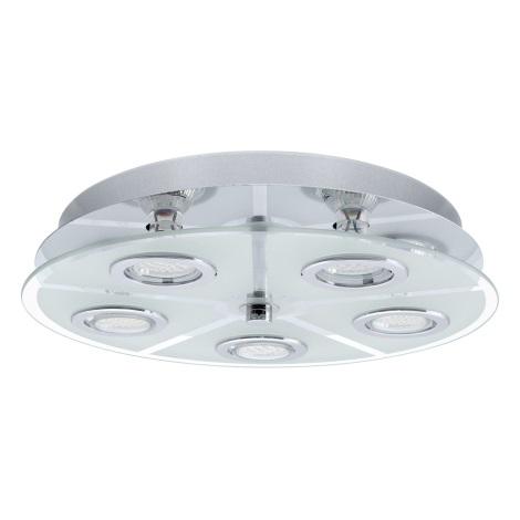 EGLO 30933 - LED Stropné svietidlo CABO 5xGU10/LED/2,5W