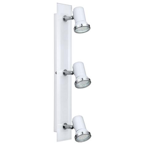 Eglo 31263 - LED kúpeľňové svietidlo TAMARA 1 3xGU10-LED/2,5W/230V
