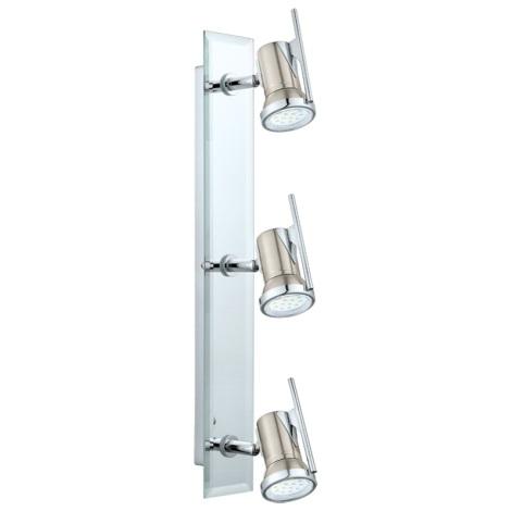 Eglo 31266 - LED kúpeľňové svietidlo TAMARA 1 3xGU10-LED/2,5W/230V