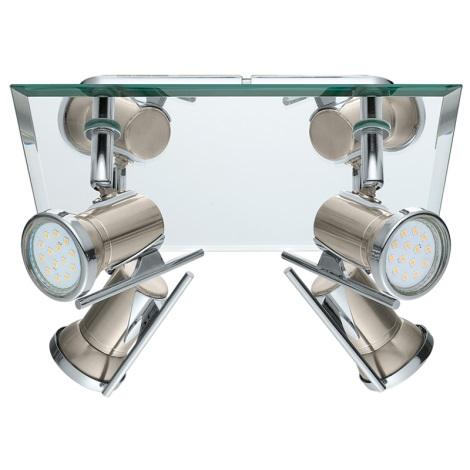 Eglo 31267 - LED kúpeľňové svietidlo TAMARA 1 4xGU10-LED/2,5W/230V