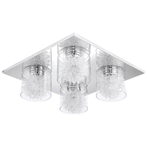 Eglo 31335 - Stropné svietidlo ALTAMURA 4xG9/33W/230V