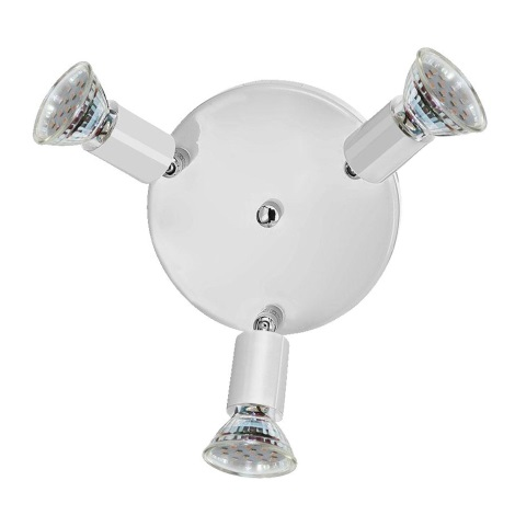 Eglo 31416 - LED bodové svietidlo RONDELL 3xGU10/50W/230V