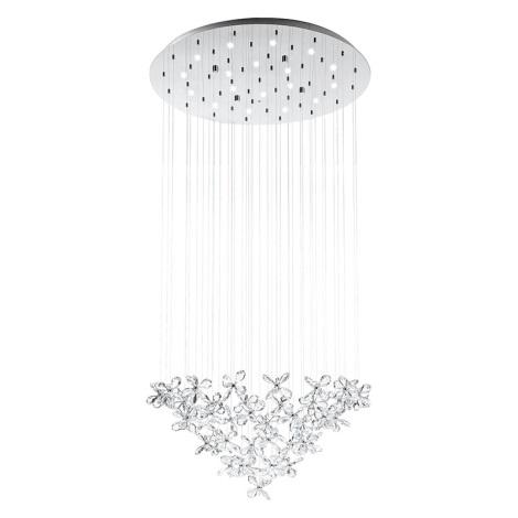 Eglo 31491 - LED stropné svietidlo SARACÉNI 18xLED/2,4W/230V