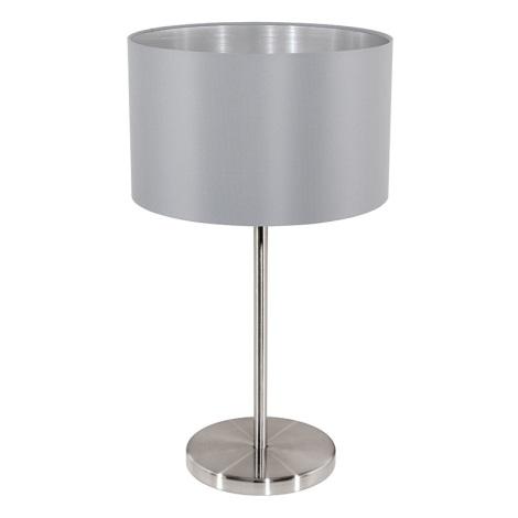 Eglo 31628 - Stolná lampa MASERLO 1xE27/60W/230V