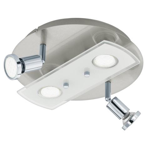 Eglo 32001 - LED Stropné svietidlo PAWEDO 1 4xGU10-LED/3W/230V