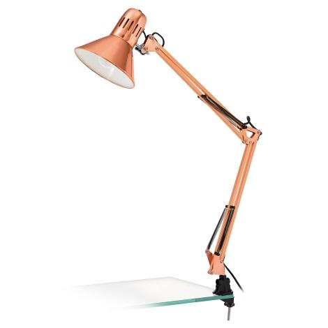 Eglo 32091 - Stolná lampa FIRMO 1xE27/40W/230V