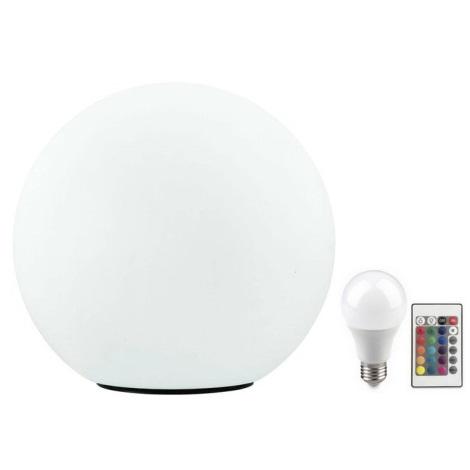 Eglo 32998 - LED RGB Vonkajšia stojacia lampa MONTEROLO 1xE27/9W/230V IP65 ø390