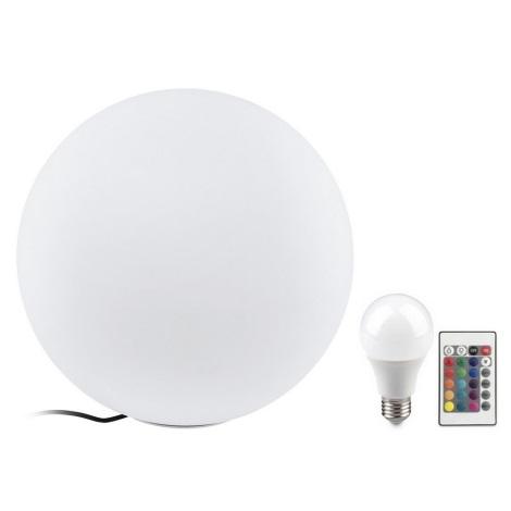 Eglo 32999 - LED RGB Vonkajšia stojacia lampa MONTEROLO 1xE27/9W/230V IP65 ø500