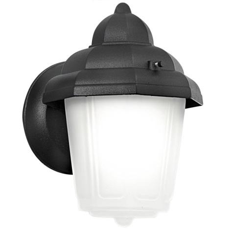 EGLO 3376 - Vonkajšie nástenné svietidlo LATERNA 7 1xE27/60W/230V čierna