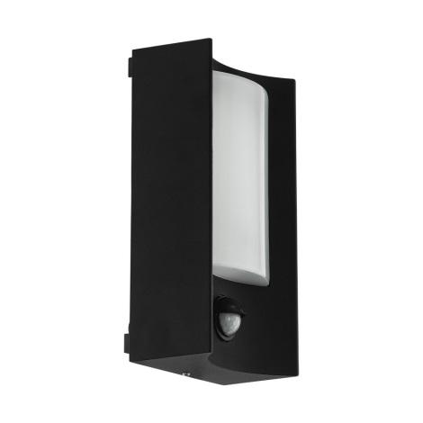 Eglo 34008 - LED Vonkajšie nástenné svietidlo so senzorom CASILDA LED/6W/230V IP44