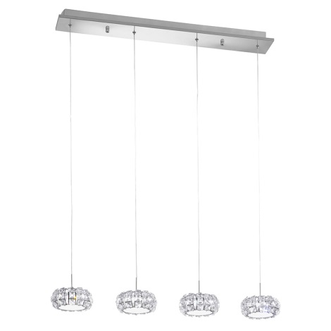 Eglo 39007 - LED závesné svietidlo CORLIANO 4xLED/5W/230V